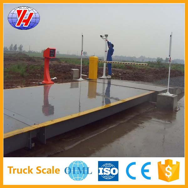 electronic portable weighbridge truck scale axle 80t With High Quality
