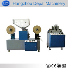 automatic straws packaging machine connected straw cutting machine