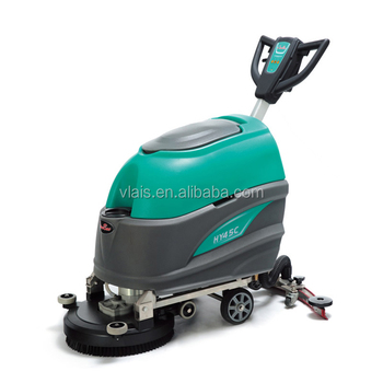 Household concrete floor cleaning machine industrial scrubber dryer battery