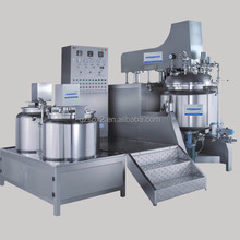 sensor wash basin mixer / antibiotic ointment price of mixing tank / 500L vacuum emulsifying homogenizer mixer