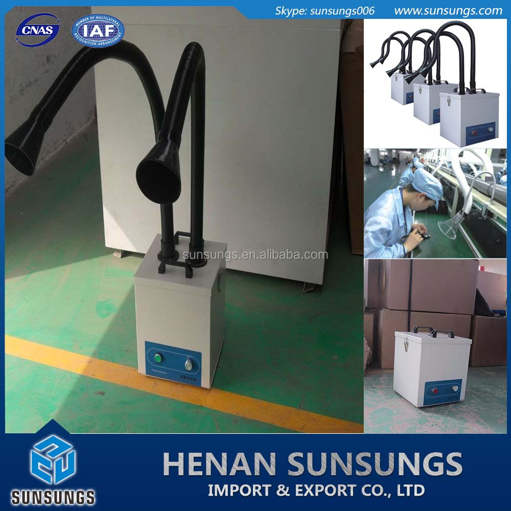 electron industry portable dust extraction unit