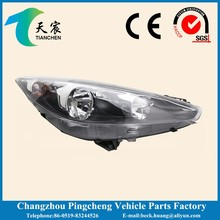 head light and vehicle front head lamp for peugeot 207 6206.P4 05