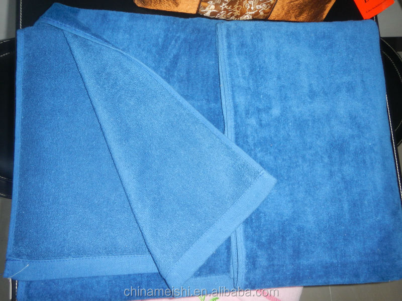 Cheap wholesale custom made printed microfiber royal velvet towels