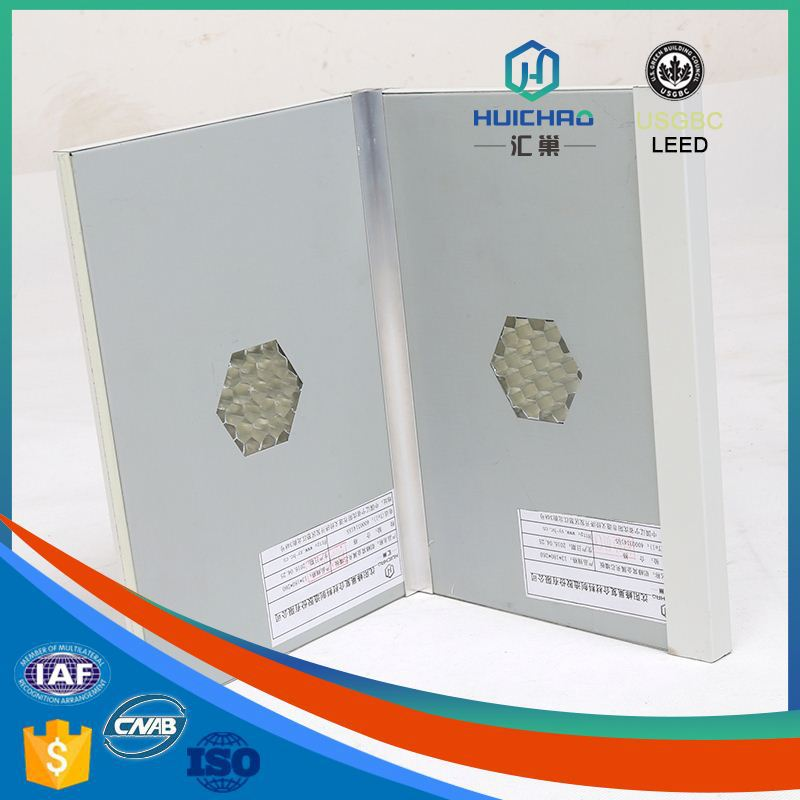 HC-Q Environment protect good flatness affordable conventional aluminum honeycomb decorative panel sheet metal