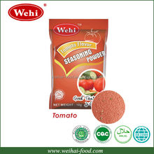 Halal snacks using tomato powder seasoning condiment