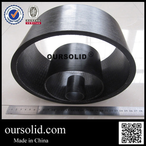 OURSOLID winding oil press machine bushing with high load oil-free bearing