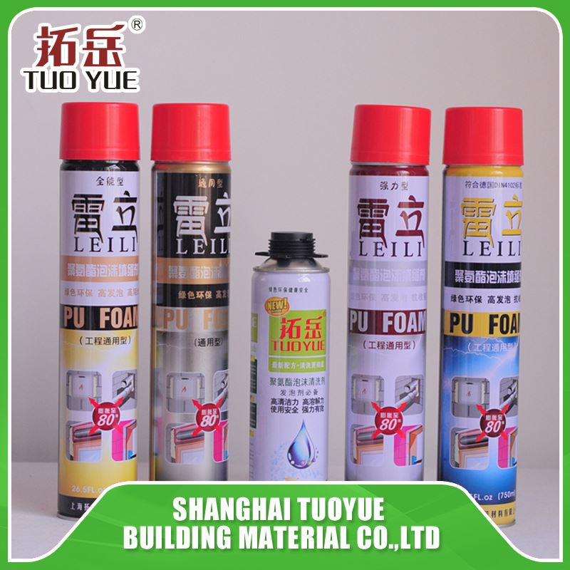 High quality 750ml new spray foam insulation kit