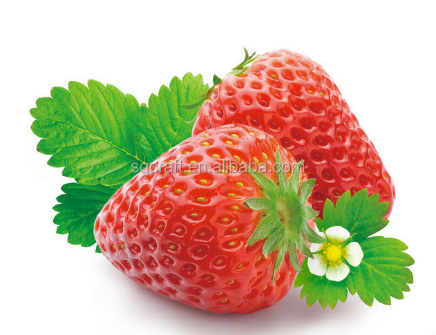 Mini artificial strawberries faux fruit fake strawberry food house decoration