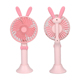 2018 cute mini usb portable rechargeable electric fan