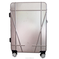 travel style High Quality 4 Wheels Aluminium Trolley Hard Case Luggage Bag suitcase