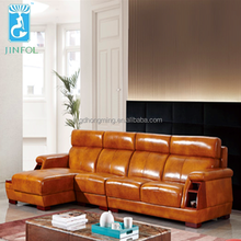 Luxury <strong>Modern</strong> chesterfield leather sofa, chesterfield L Style leather sofa