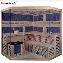 6 people indoor find life aroma traditional sauna room