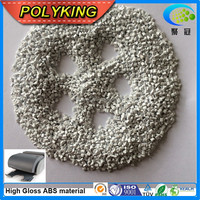 colored abs plastic virgin granules plastic raw pellets/white abs
