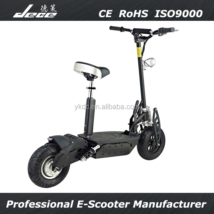 2017 CE&RoHS electric scooter 36V 1000W wheel hub motor