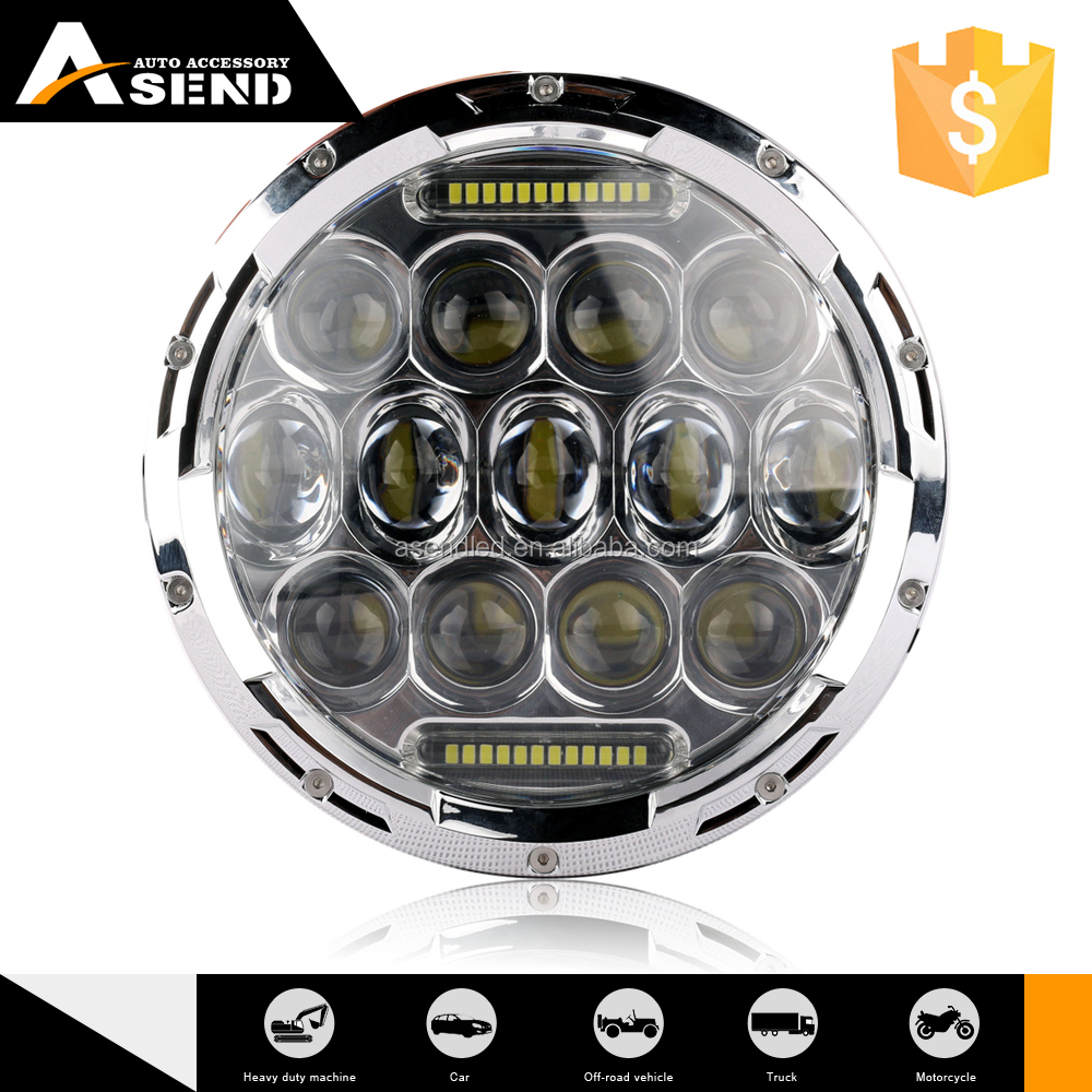 most powerful headlamp 7'' 12v battery led work light power supply 12v head lamp