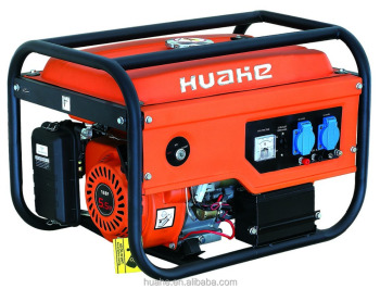 2000W benzine generator electric start with battery 5.5HP engine