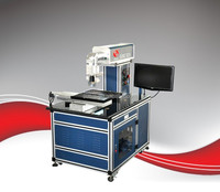 ARGUS 20W solar fiber laser scribing cell machine to cut film cell wafer dicing CE/ISO