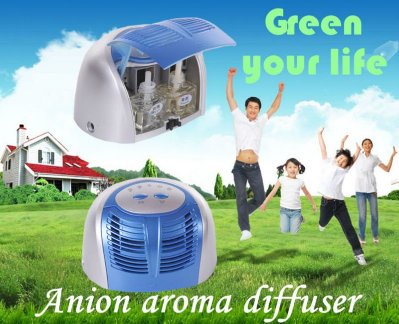 Green new product on the market anion Aroma Diffuser (clean air,release aroma)