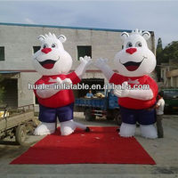 big cat inflatable model for advertising decoration
