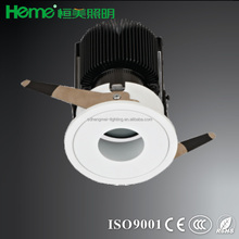 LED round COB 9W/12W/15W Dia105x120mm cut out 95mm LED ceiling recessed mount down light