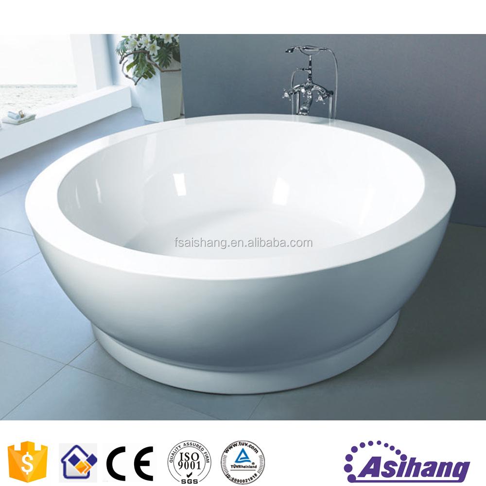 As33048 acrylic freestanding used bathtub with bath set for Best acrylic bathtub to buy