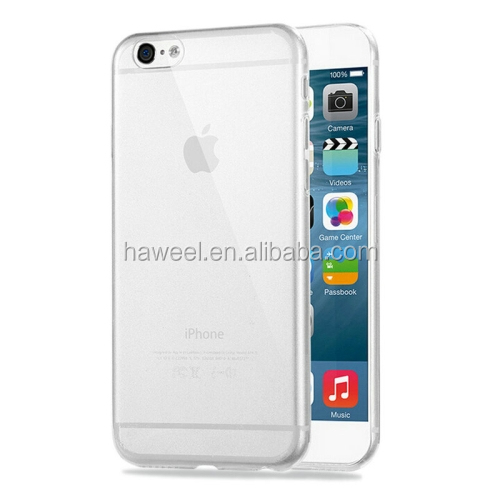 wholesale HAWEEL 0.3mm Zero Series Transparent TPU Protective Case for iPhone 6 Plus(Transparent)