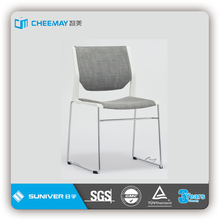 white plastic low price visitor chair