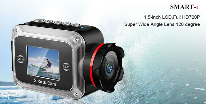 wholesale Extremely portale waterproof sports camera
