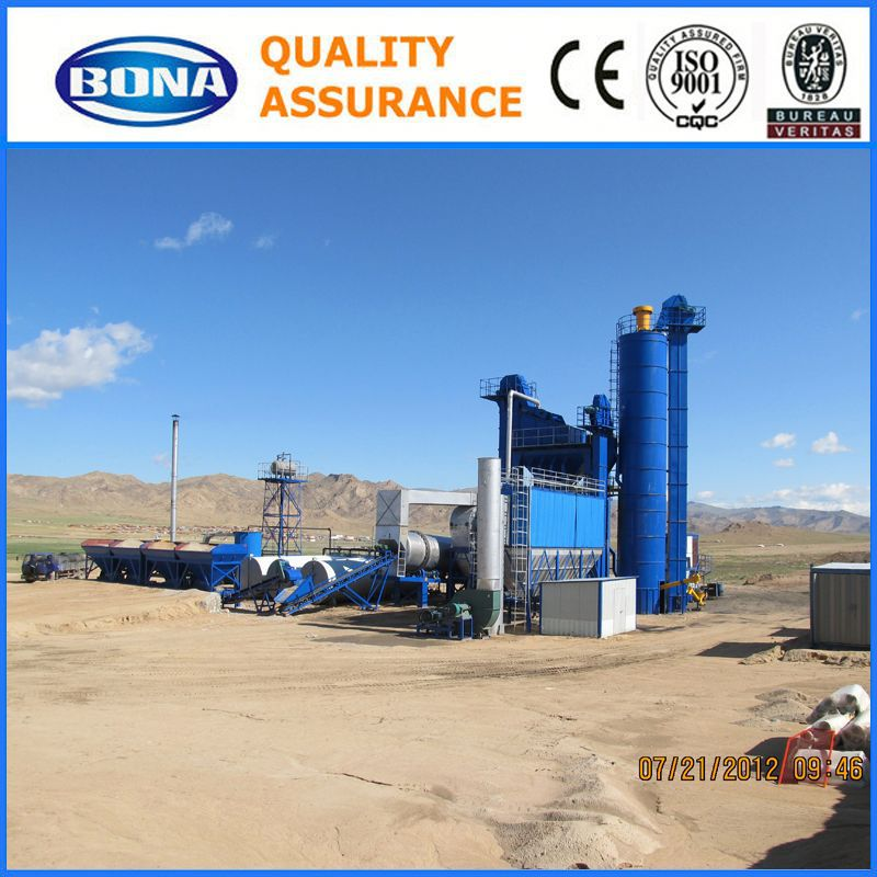Asphalt Emulsion Mobile Type 125tph Hot Mix Asphalt Batching Plant