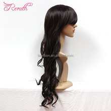 Indian women hair wig, lace wig human hair