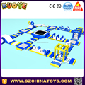 2017 new design hot sale giant inflatable aqua floating water park