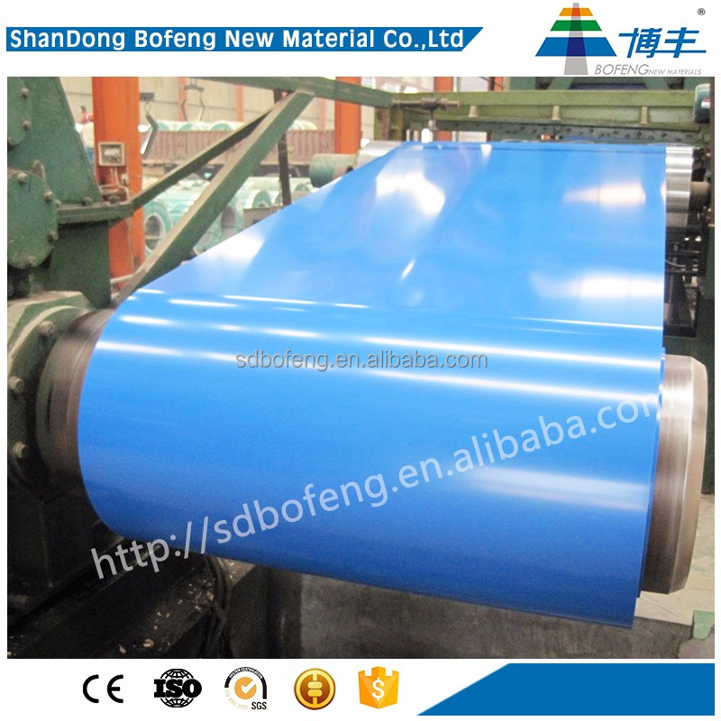 Superior corrugated sheet metal coil