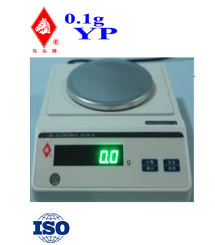 electronic weighing scale 0.1g YP series ISO Shanghai Manufacturer
