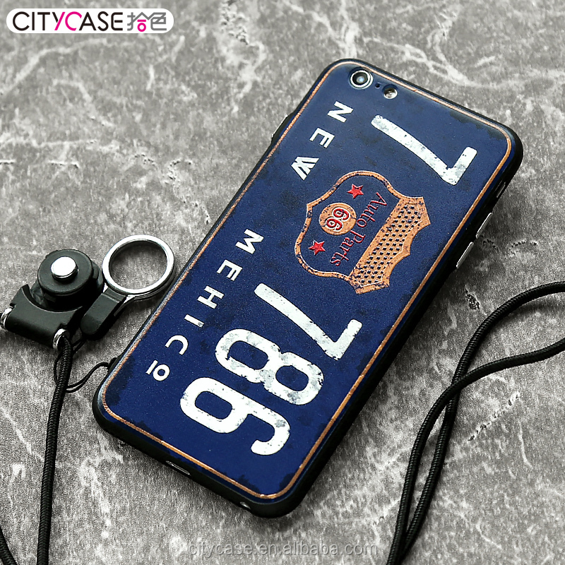 citycase free sample silicone waterproof cellphone case cover for iPhone 6 6s