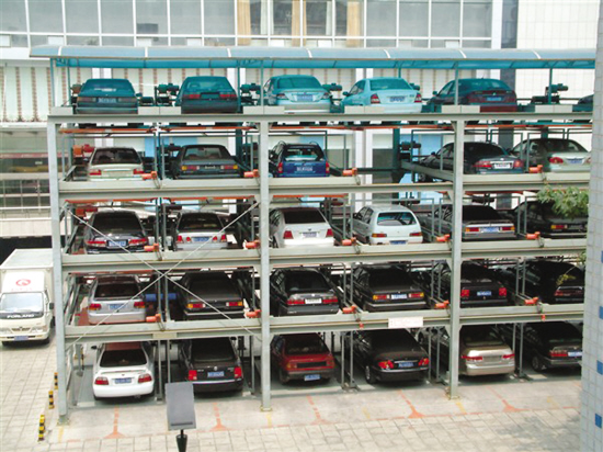 Automatic PSH multi-level mechanical car parking system