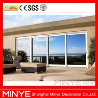 Sliding heavy lift door/Thermal break aluminum big sliding heavy door