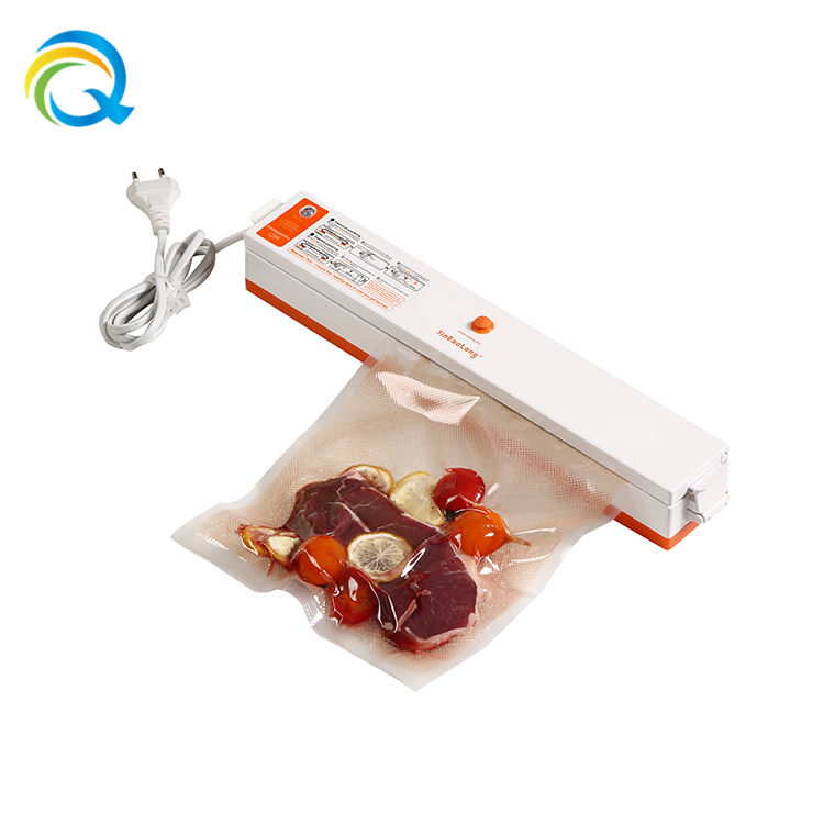 Household Portable Handheld Vacuum Food Sealer With Plastic Bag