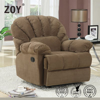 Araba sofa one person glider rocker swivel fabric recliner sofa ZOY 9256A51