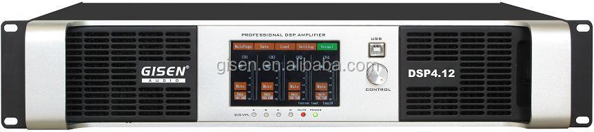 DSP4.12 power amplifier-touch screen