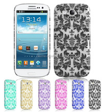 Floral Pattern Hard Back Plastic Case Cover for Samsung Galaxy S3 i9300