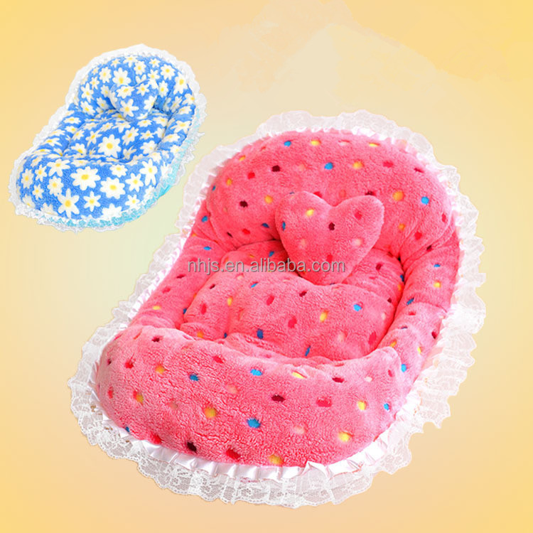 Pet Products 55X45CM Colorful Soft Pet Dog Beds Lovely Plush Memory Foam Sponge Pet Dog Bed