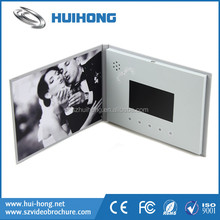 "4.3"" Electronic video greeting card lcd player card"