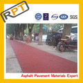 colored cold bitumen mixture color asphalt pavement from China