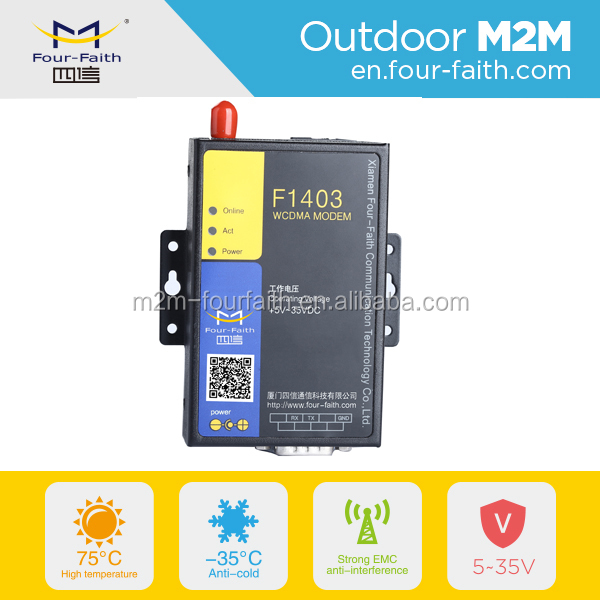F1403 gsm modem support at command 3g modem for logistics vehicle m