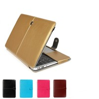 Laptop Cover Case PU Leather Laptop Case Waterproof Laptop Case for Macbook Air 13.3""