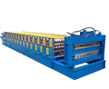 Steel cold forming equipments double layer rolled machine