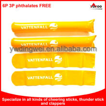 Inflatable Hand Clapper Cheering Stick, Sport Balloon Cheering Stick