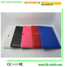 Android bluetooth wifi dual camera cheap price 7 inch tablet pc H733