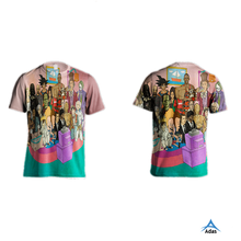top quality girls new style sublimation printing t-shirt dri fit