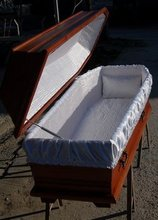 Hand-made Burial Coffin
